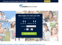 ChristianMatchmaker.com Screenshot