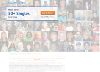 SeniorPeopleMeet.com Screenshot