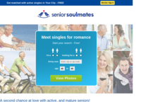 SeniorSoulmates.com Screenshot
